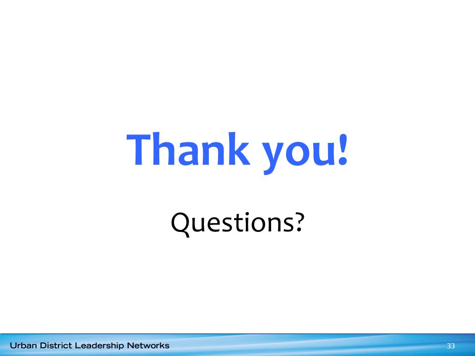 Thank you! Questions Thank you for your active engagement and deep thought.