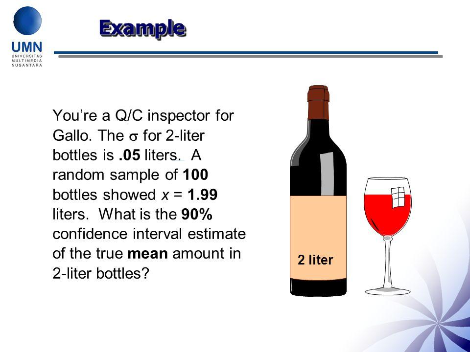 Example 2 liter.