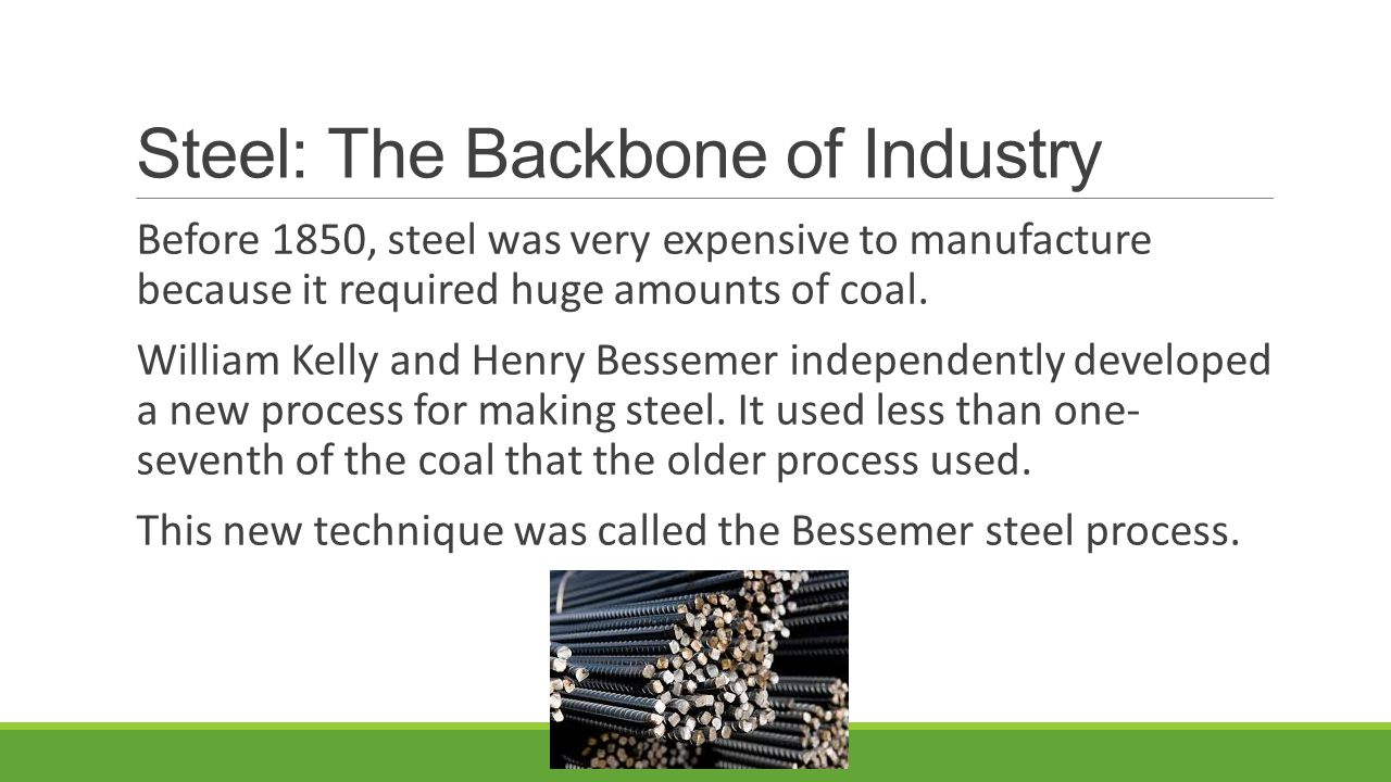 Steel: The Backbone of Industry