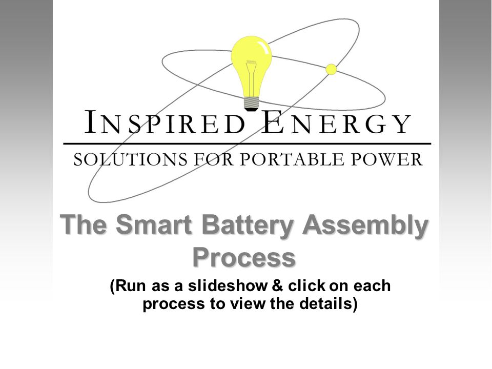 The Smart Battery Assembly Process