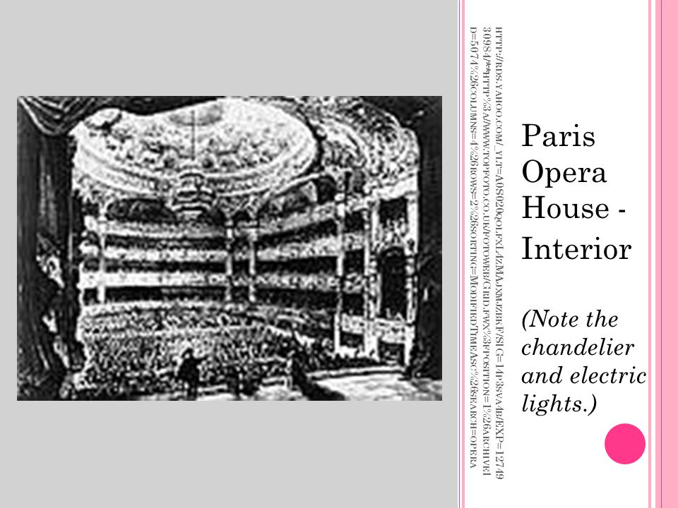 Paris Opera House - Interior
