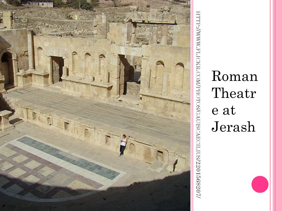 Roman Theatr e at Jerash