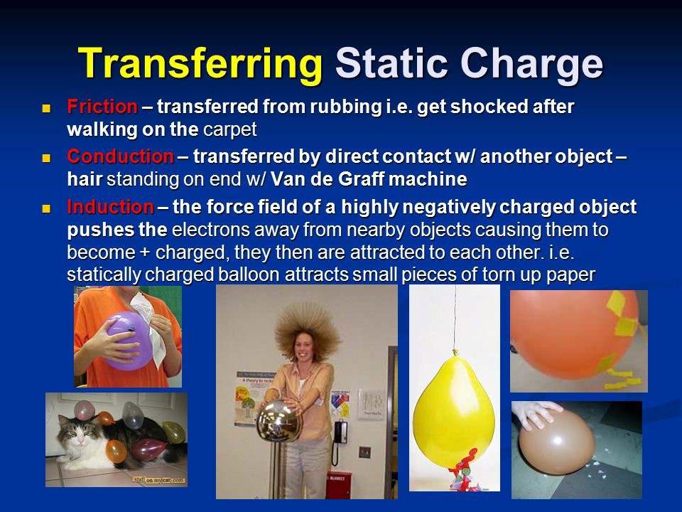 Transferring Static Charge