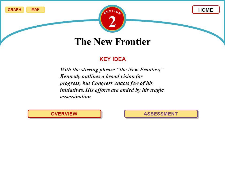 2 The New Frontier KEY IDEA