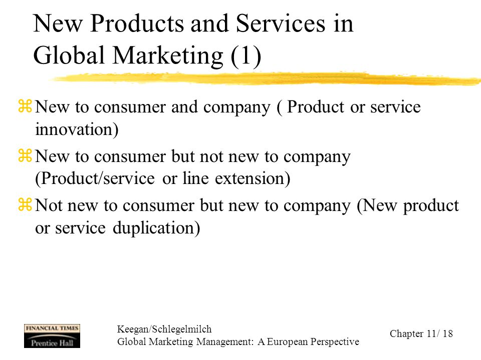 New Products and Services in Global Marketing (1)