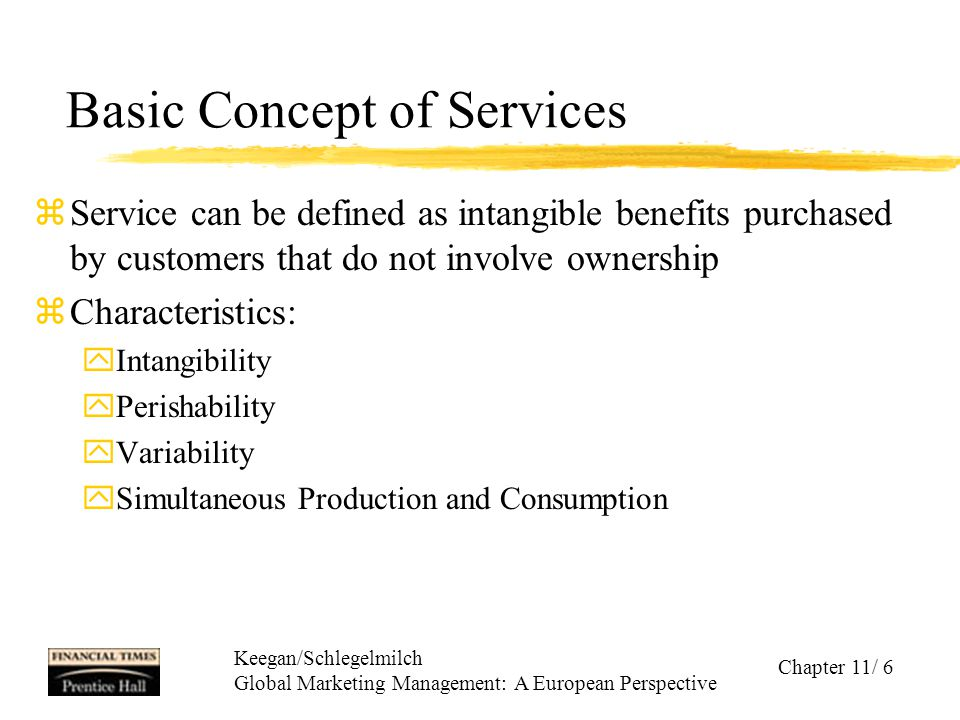 Basic Concept of Services