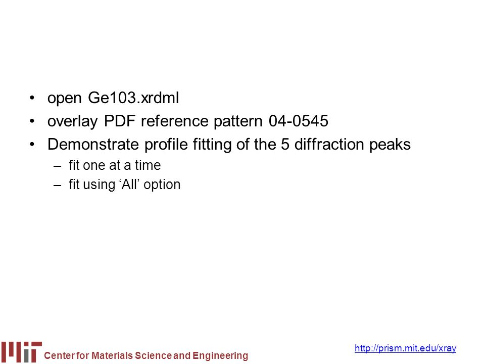 overlay PDF reference pattern 04-0545