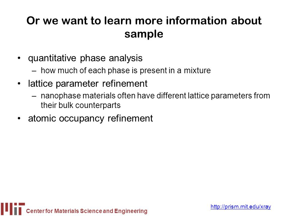 Or we want to learn more information about sample