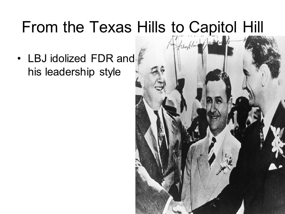 From the Texas Hills to Capitol Hill