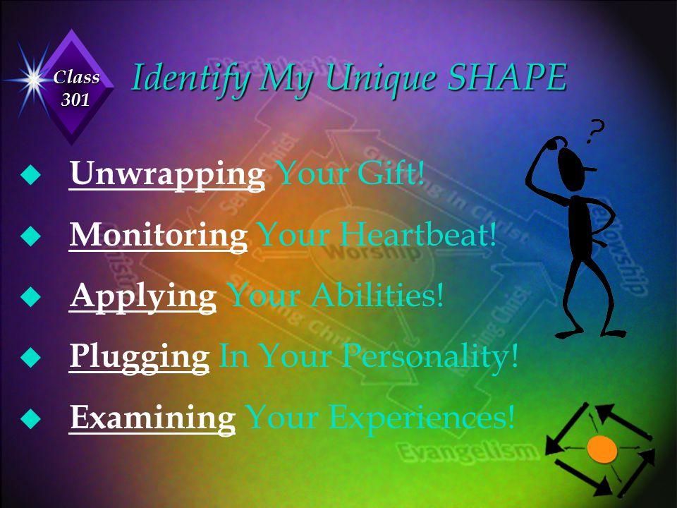 Identify My Unique SHAPE