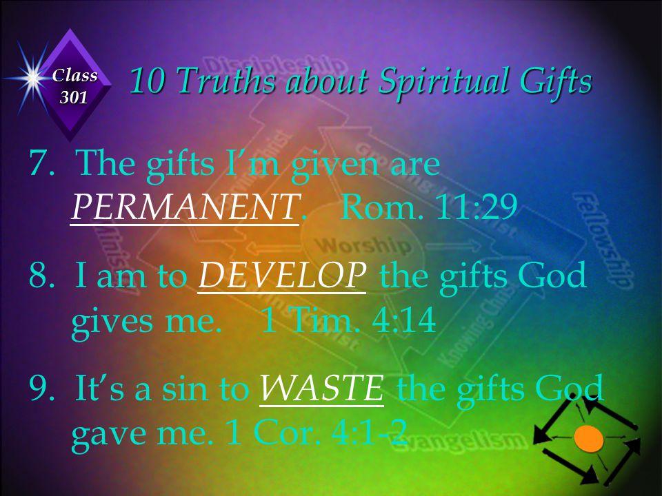 10 Truths about Spiritual Gifts