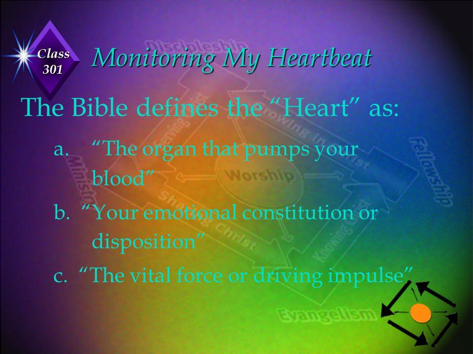 Monitoring My Heartbeat