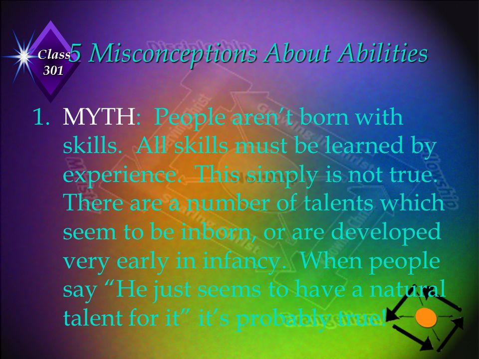 5 Misconceptions About Abilities