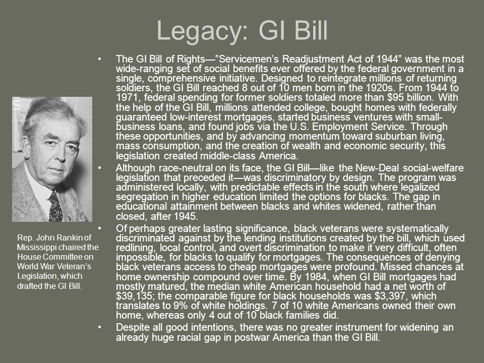 Legacy: GI Bill