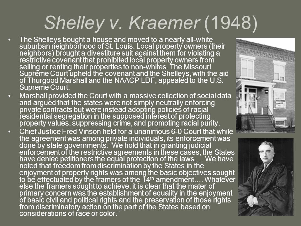Shelley v. Kraemer (1948)