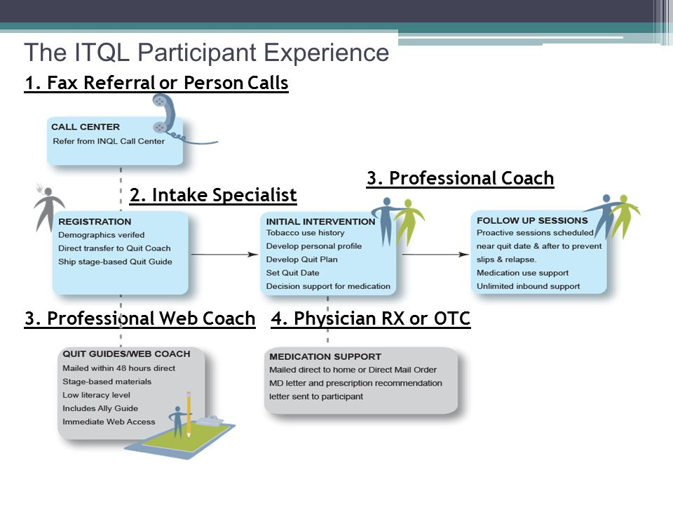 The ITQL Participant Experience