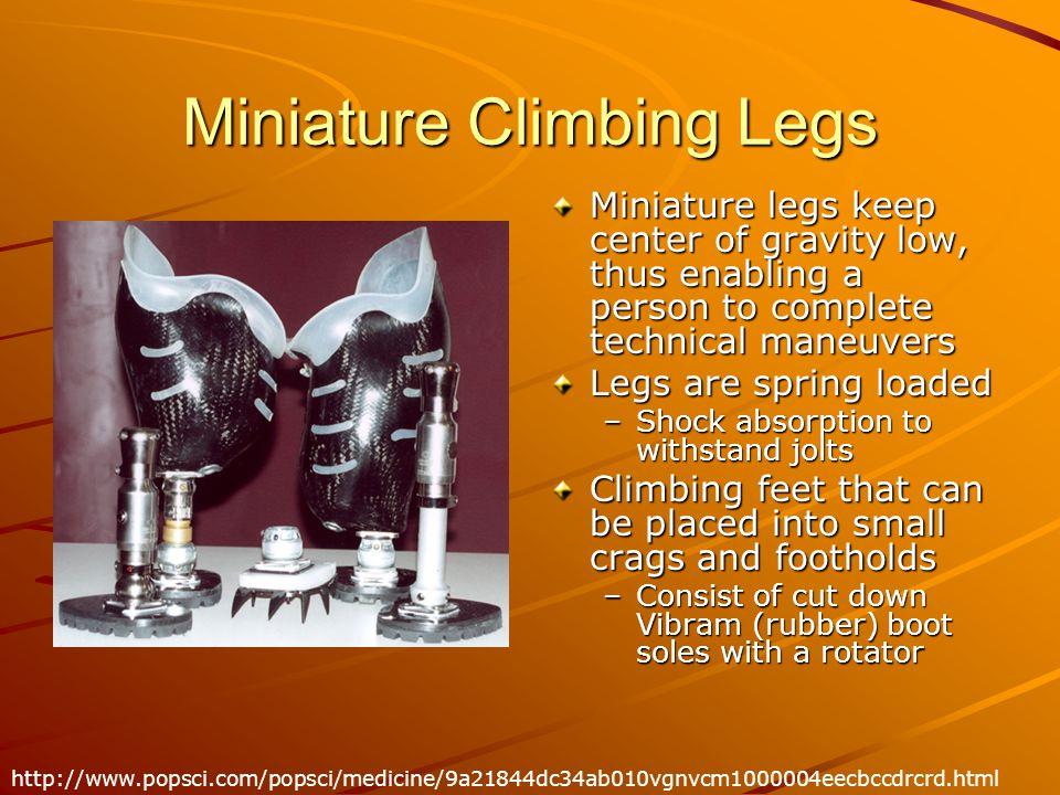 Miniature Climbing Legs