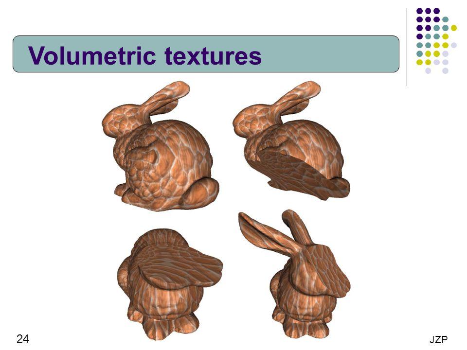 Volumetric textures