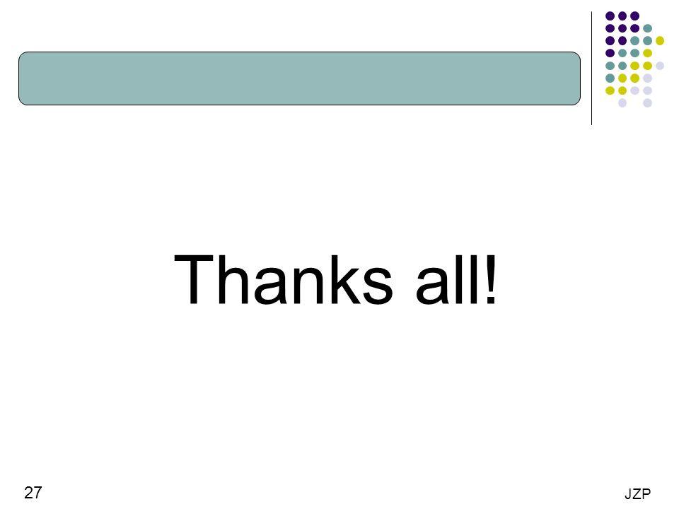 Thanks all!
