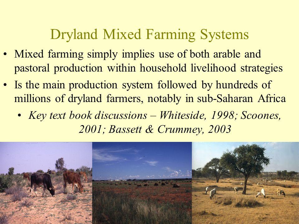 Dryland Mixed Farming Systems