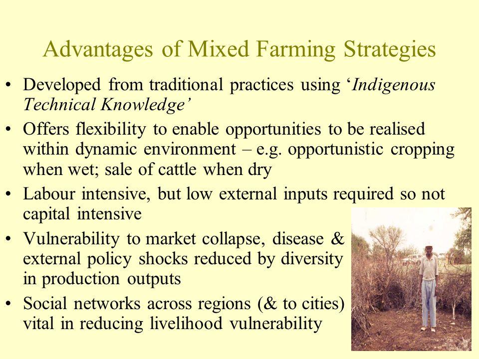 Advantages of Mixed Farming Strategies