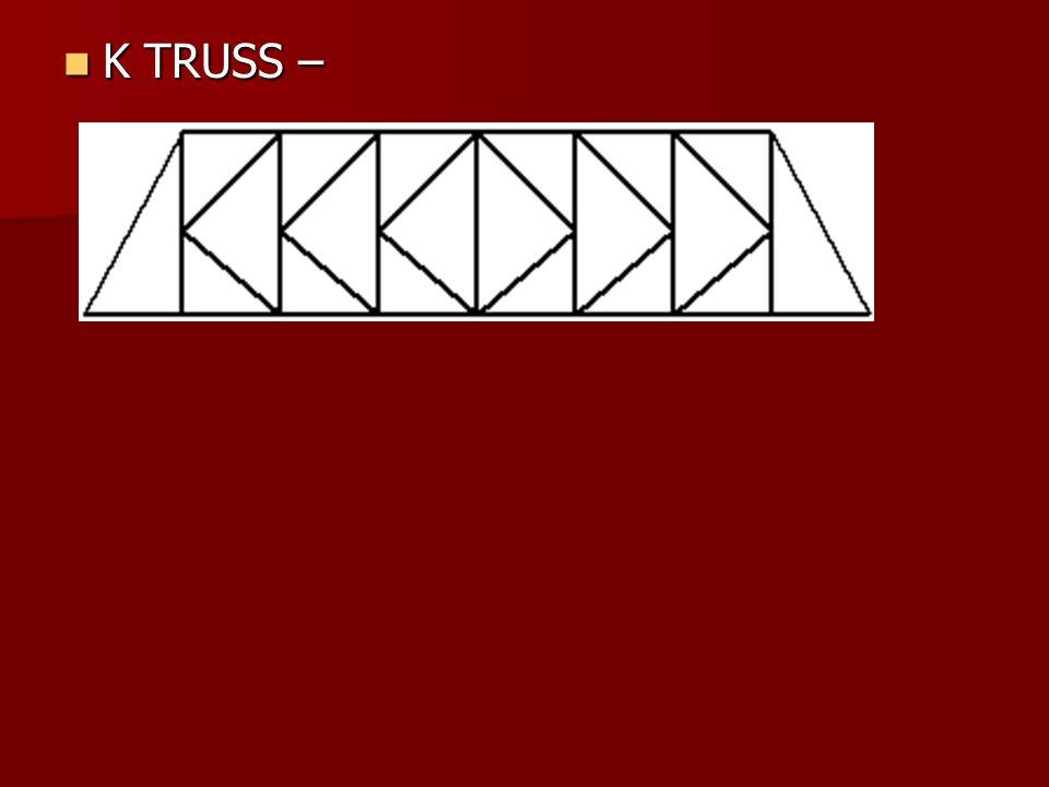 K TRUSS –