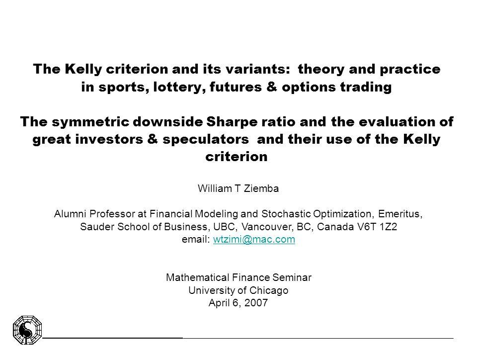 Mathematical Finance Seminar