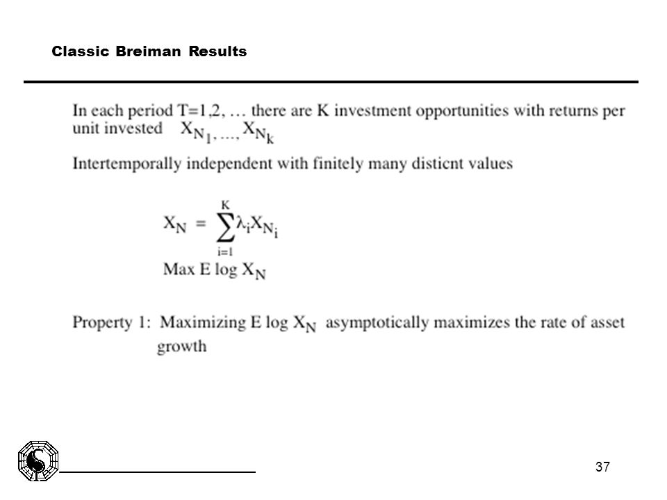 Classic Breiman Results