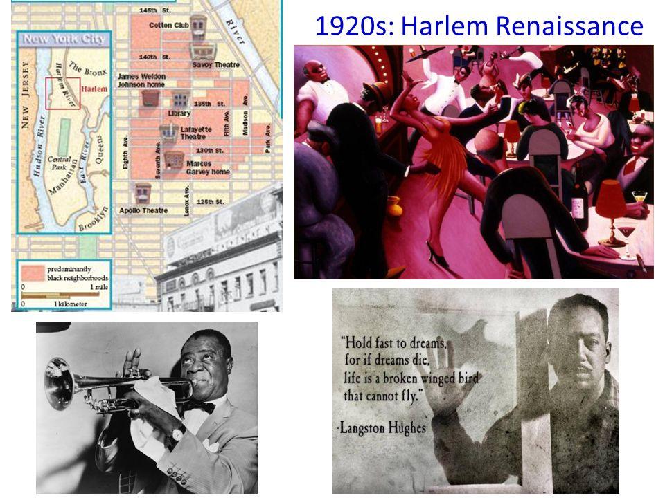 1920s: Harlem Renaissance