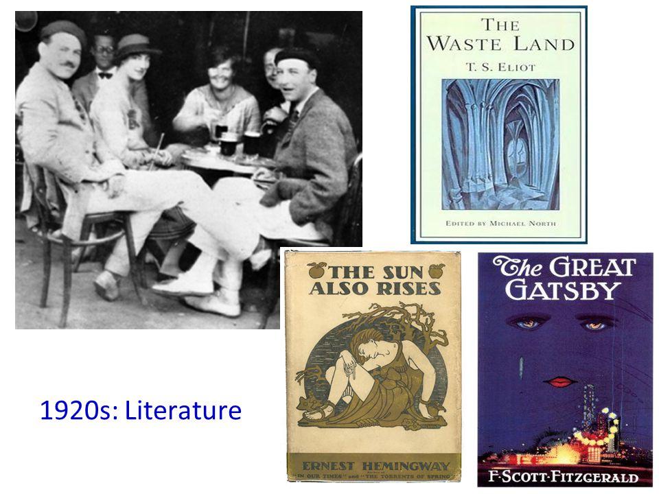 1920s: Literature