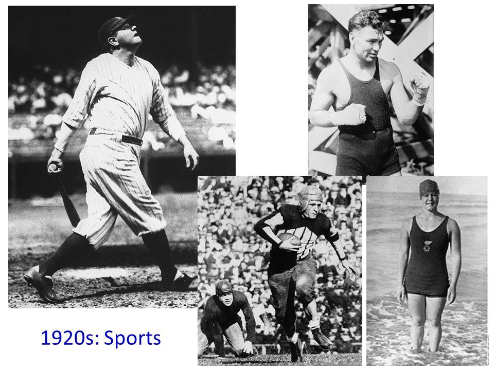 1920s: Sports