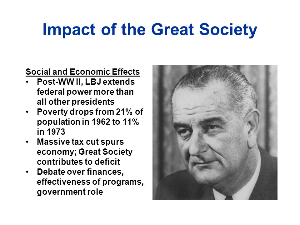 Impact of the Great Society