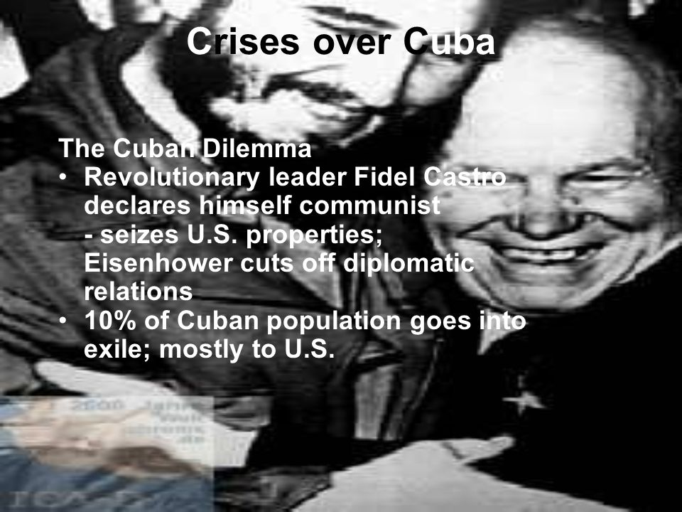 Crises over Cuba The Cuban Dilemma