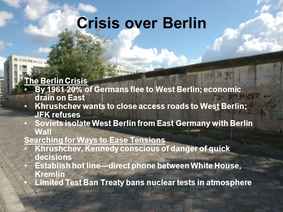 Crisis over Berlin The Berlin Crisis