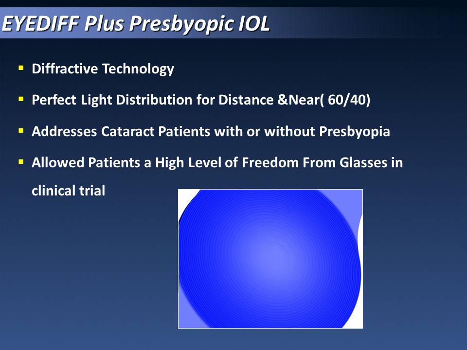 EYEDIFF Plus Presbyopic IOL