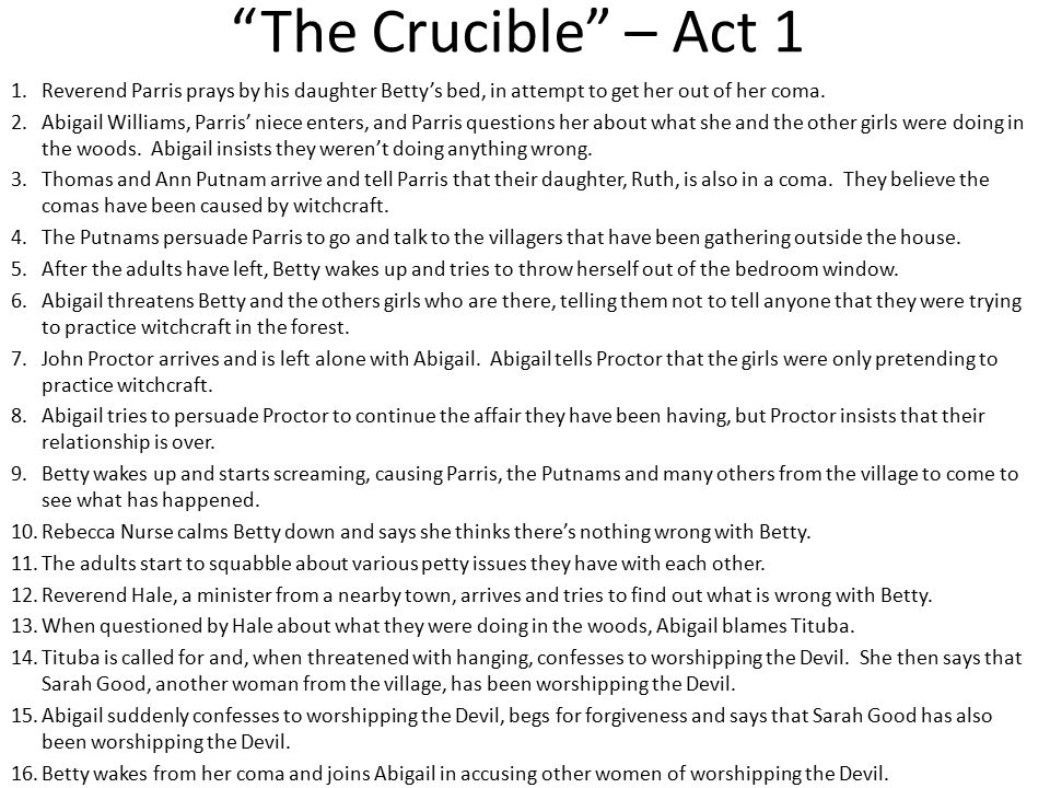 the crucible john proctor and abigail williams relationship problems