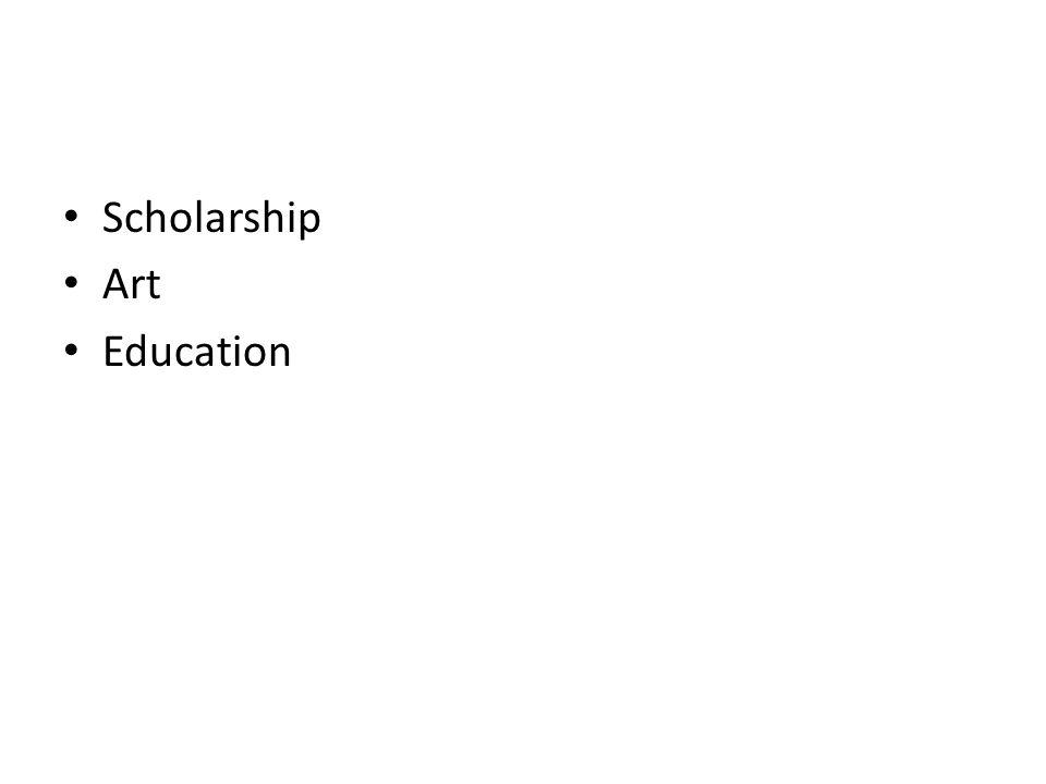 Scholarship Art Education