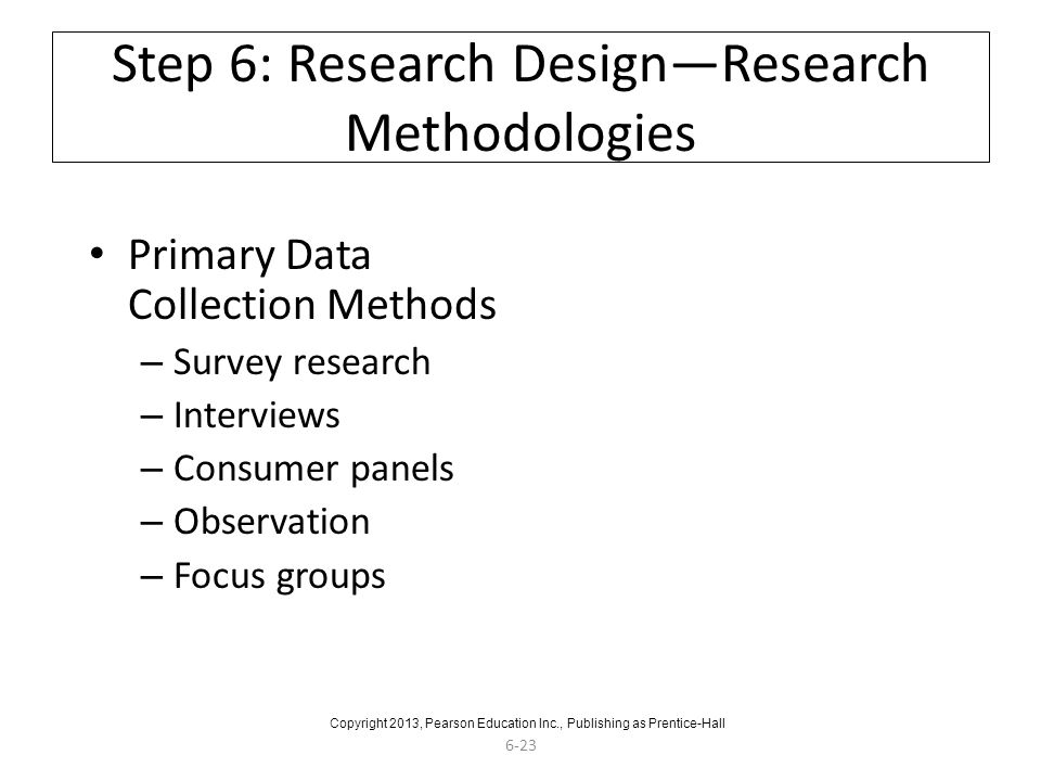 research design primary data methods marketing essay If you ever received a call to participate in a survey, you were part of primary data collection in this lesson, you'll learn what primary data is.