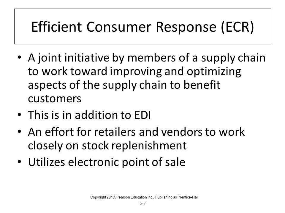 Efficient Consumer Response (ECR)
