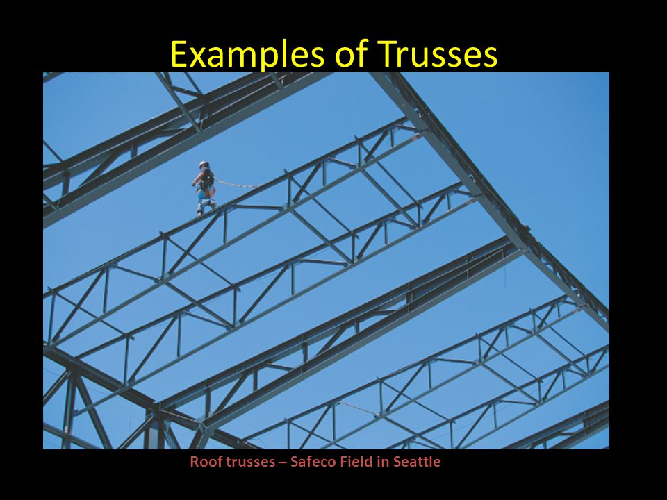 Examples of Trusses Roof trusses – Safeco Field in Seattle