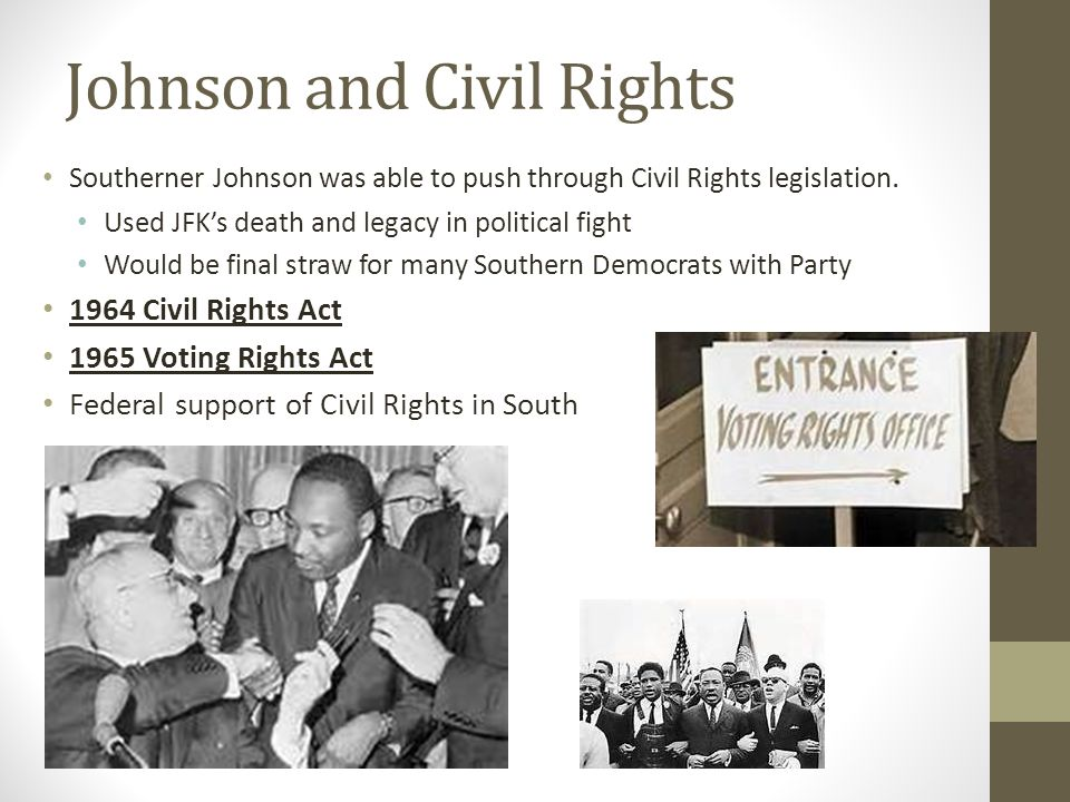 Johnson and Civil Rights