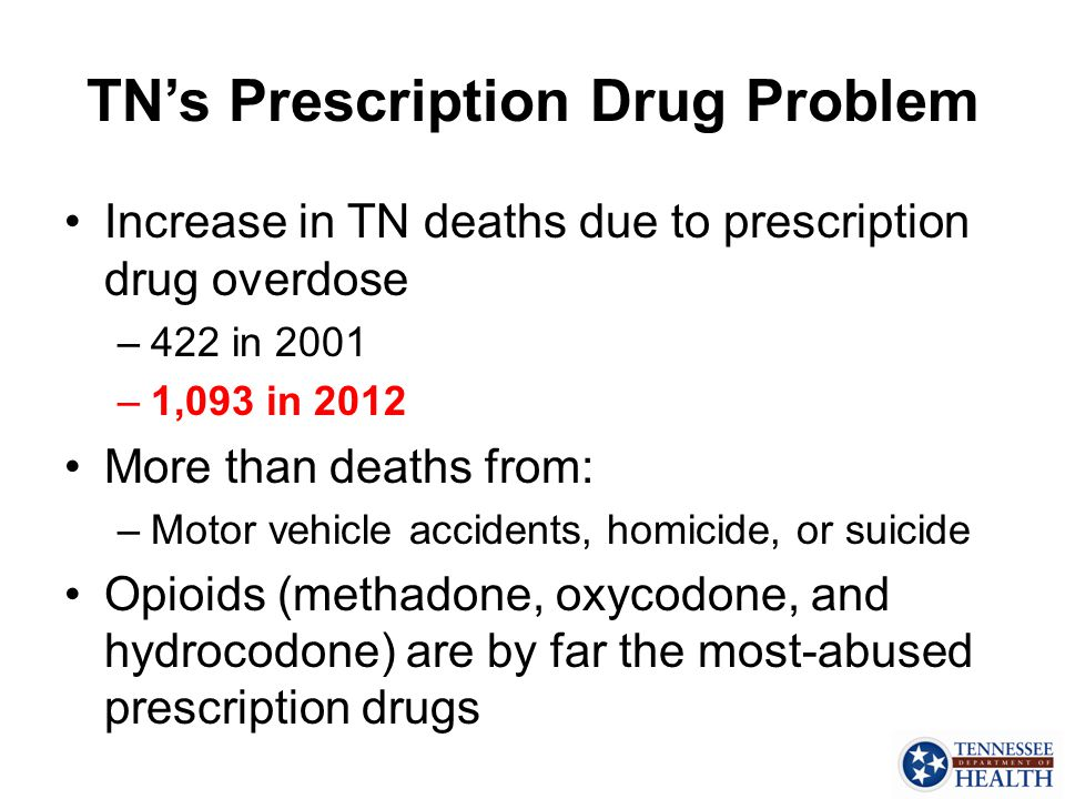 TN's Prescription Drug Problem