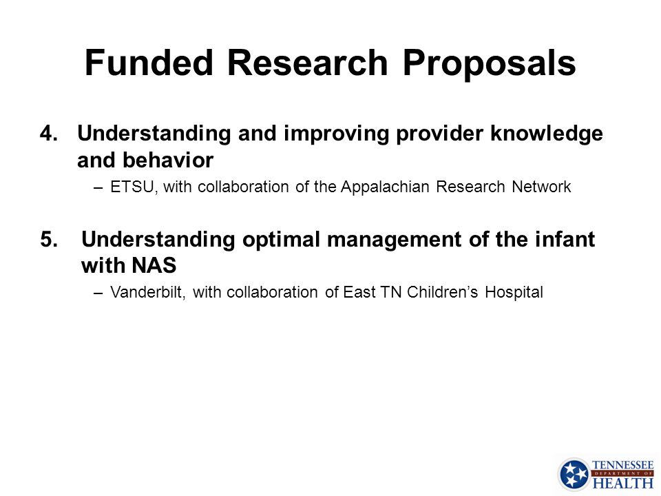 Funded Research Proposals