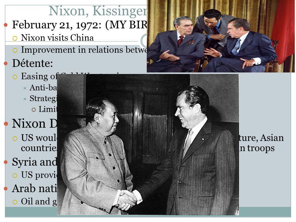 Nixon, Kissinger, And The World