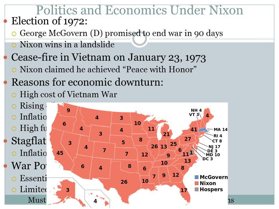Politics and Economics Under Nixon