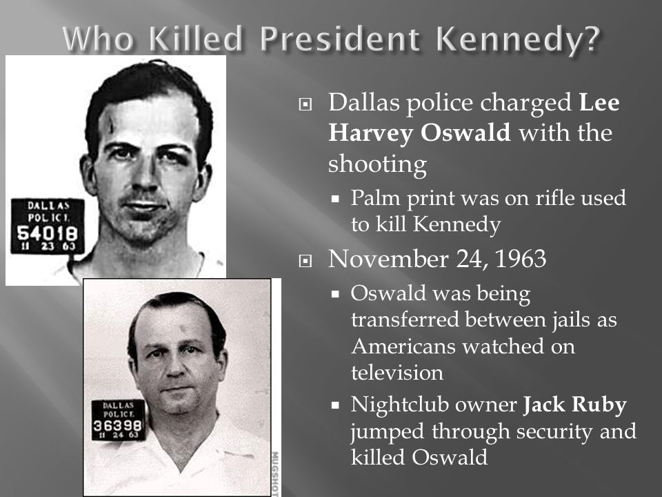 Who Killed President Kennedy