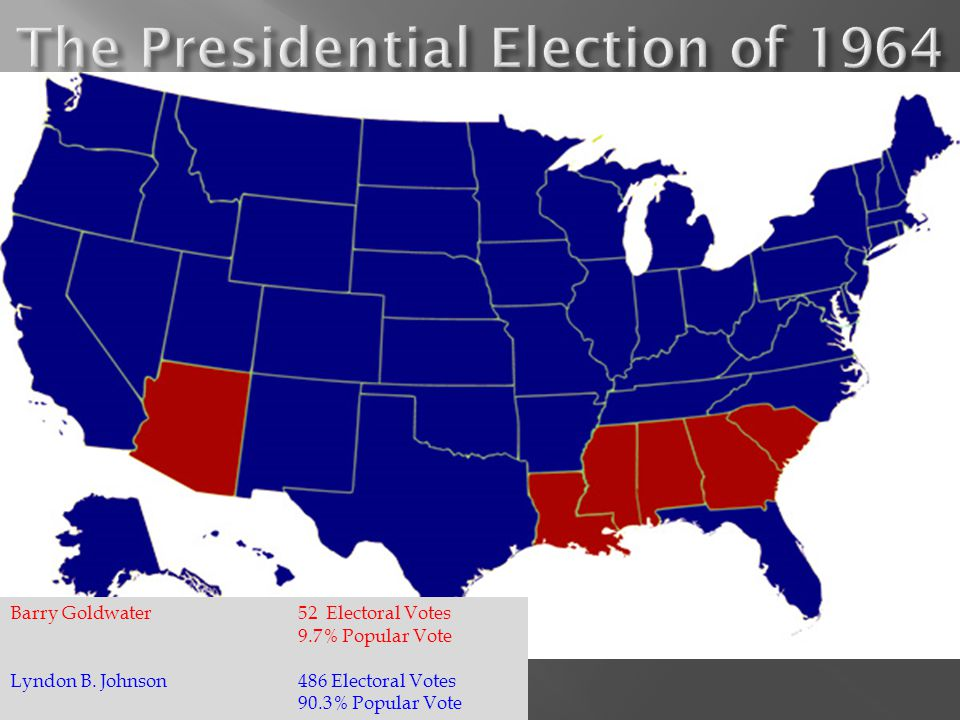 The Presidential Election of 1964