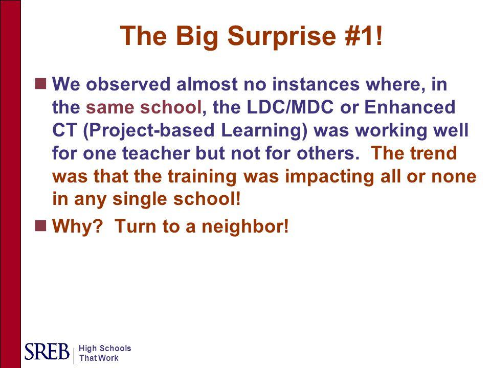 The Big Surprise #1!