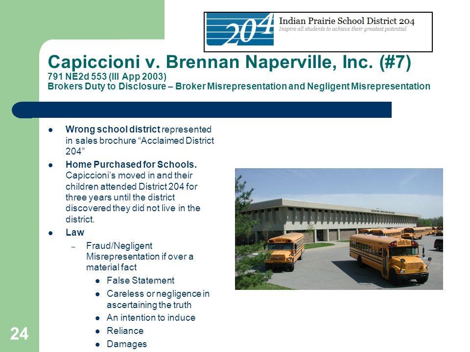 Capiccioni v. Brennan Naperville, Inc
