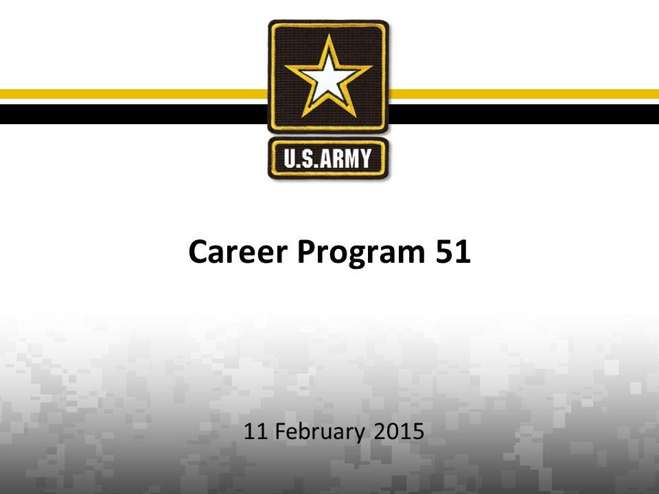 Career Program 51 11 February 2015